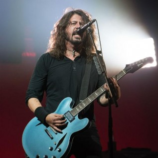 Foo Fighters perform at Glastonbury