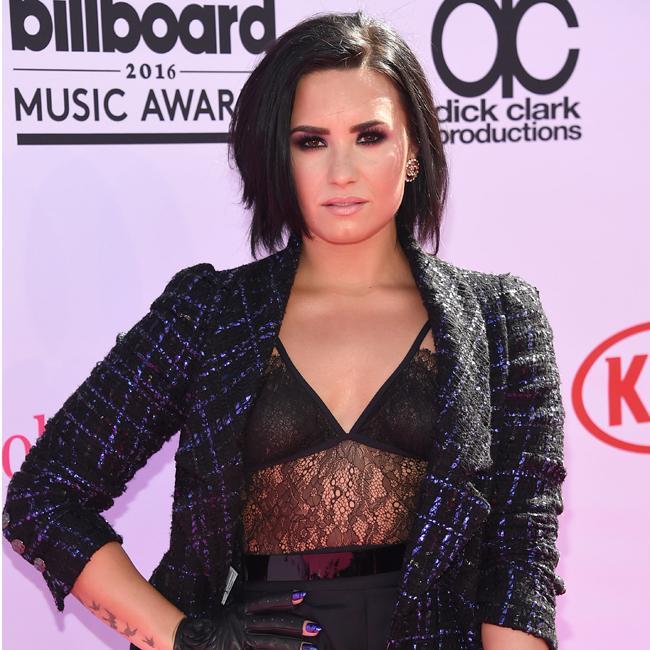 Demi Lovato loves cigars
