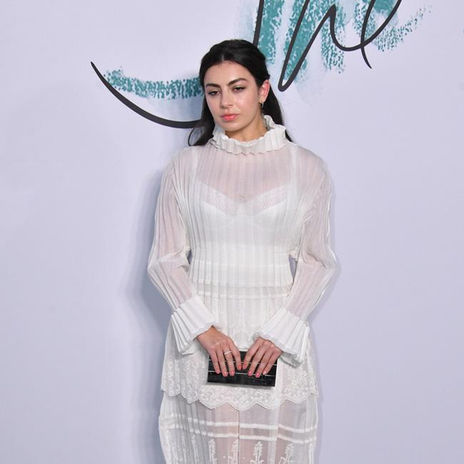 Charli XCX always embarrassed