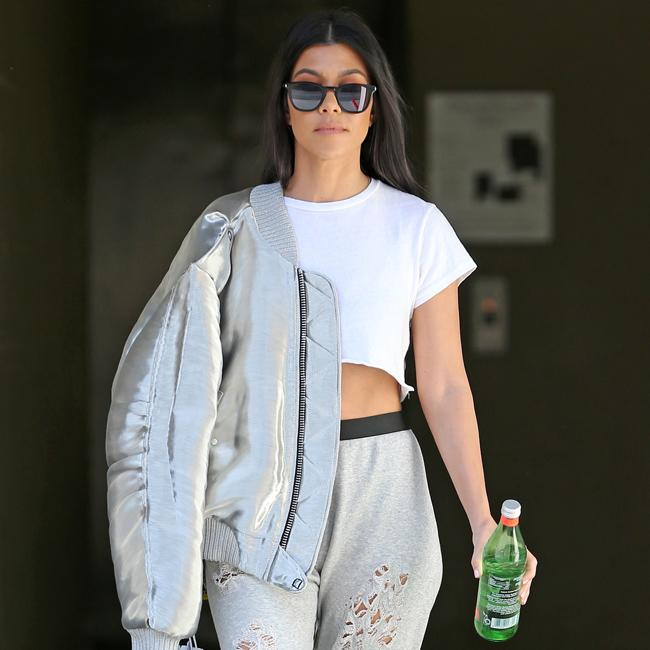 Kourtney Kardashian headed back to school