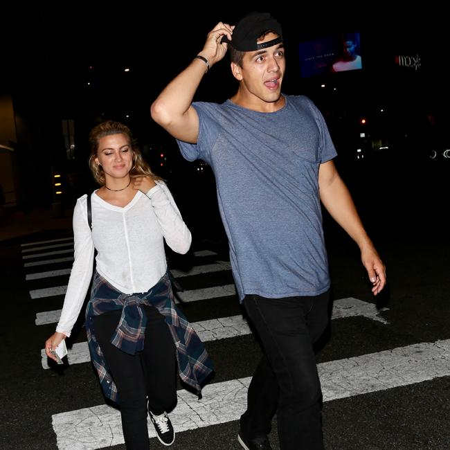Tori Kelly spotted with mystery man