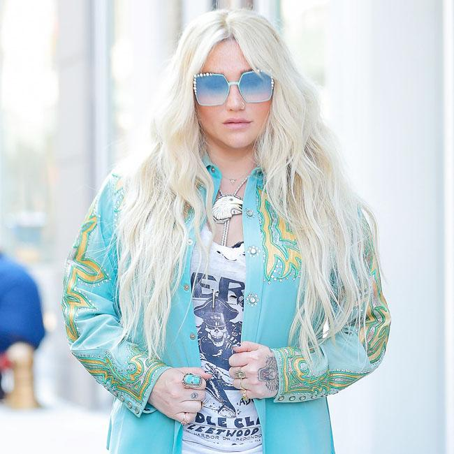 Kesha begged for a keyboard
