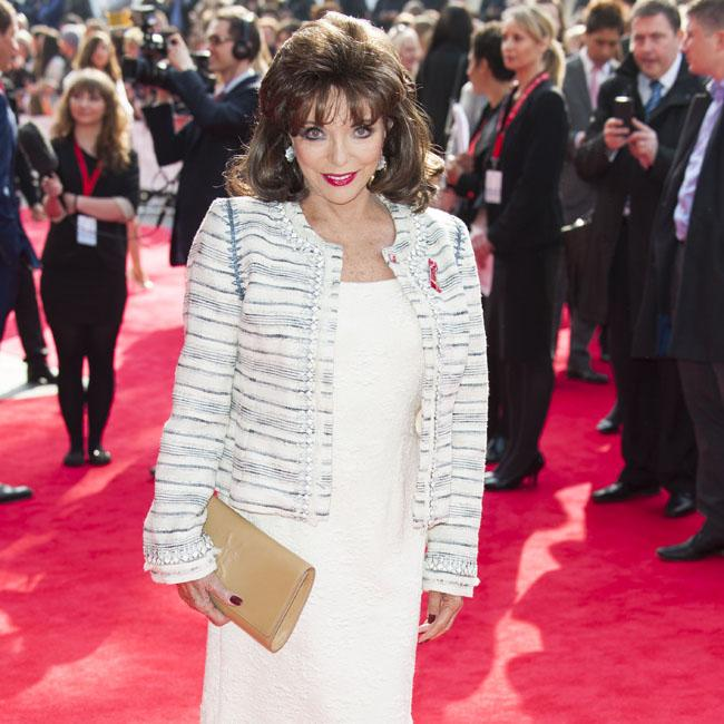 Dame Joan Collins' fitness kick