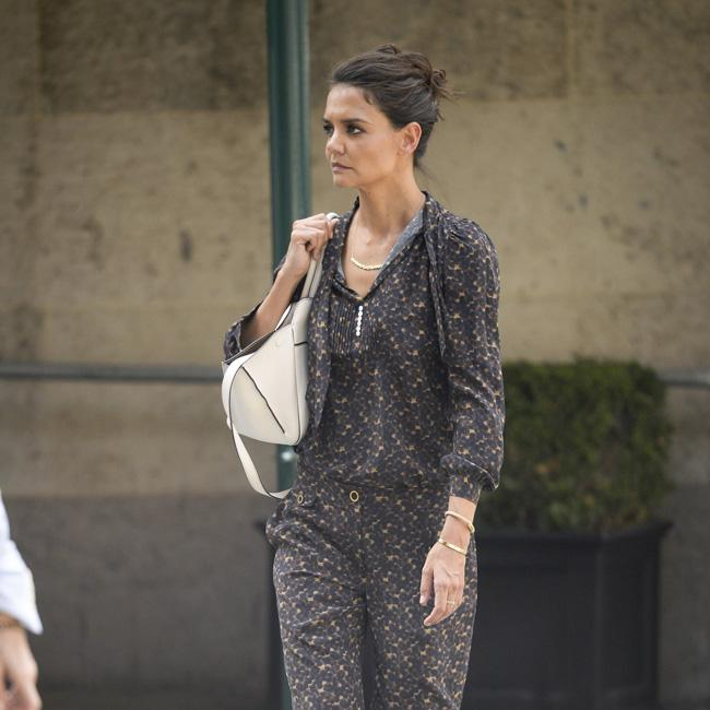Katie Holmes looks gym ready in New York