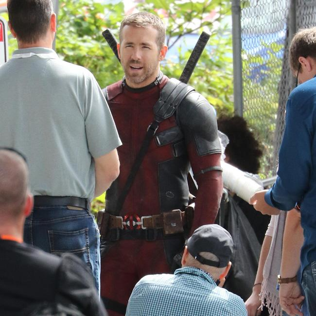 Ryan Reynolds gets back to work on set of Deadpool 2