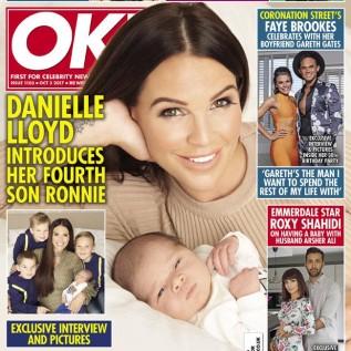 Danielle Lloyd reveals baby name