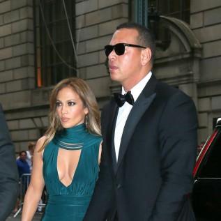 Jennifer Lopez's boyfriend and ex-husband unite for Puerto Rico