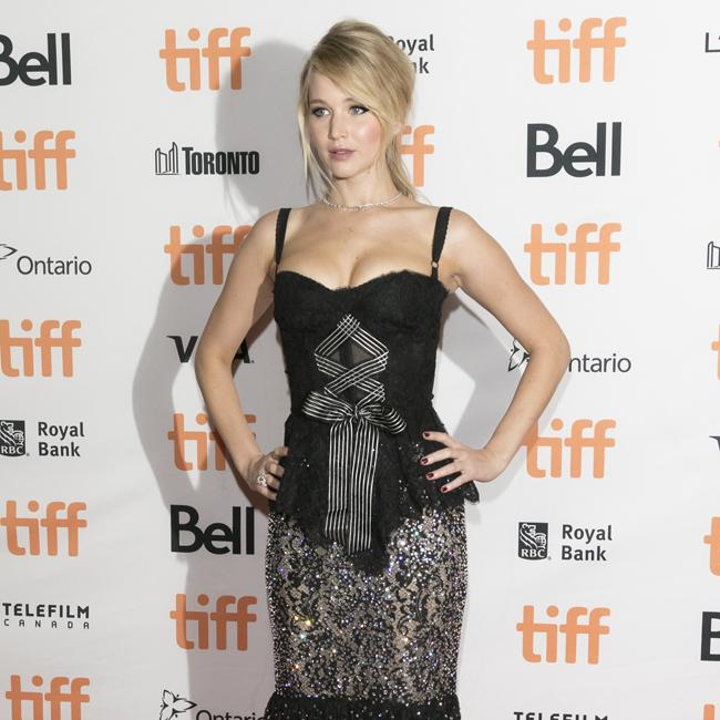 Jennifer Lawrence's risque outfit
