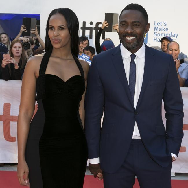 Idris Elba and rumoured girlfriend attend premiere