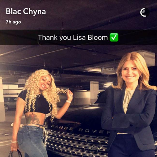 Blac Chyna gets Range Rover back