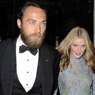 James Middleton and Donna Air 'split'