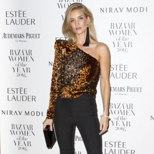 Rosie Huntington-Whiteley feels lucky to have a voice