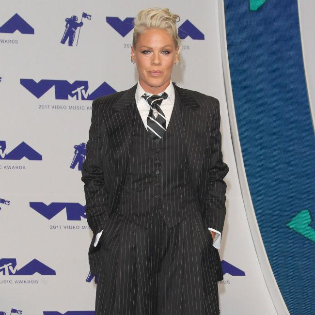 Pink proud that her MTV VMAs speech touched other mothers