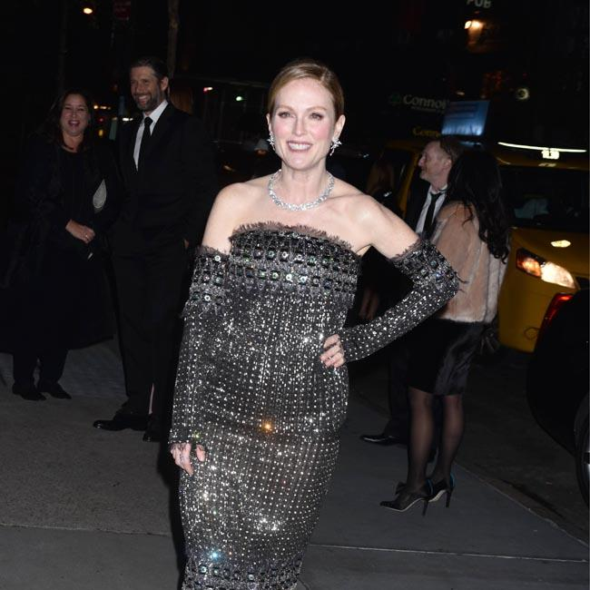 Julianne Moore's celebratory tribute in NYC