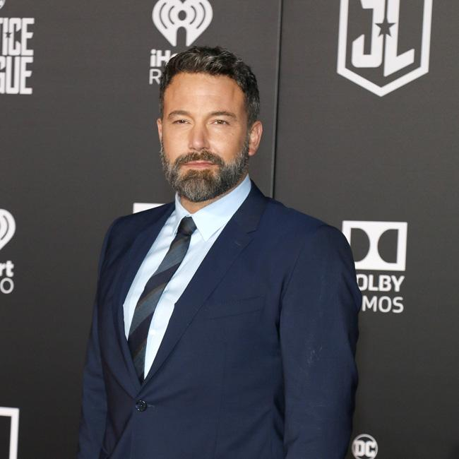 Ben Affleck masters the serious look