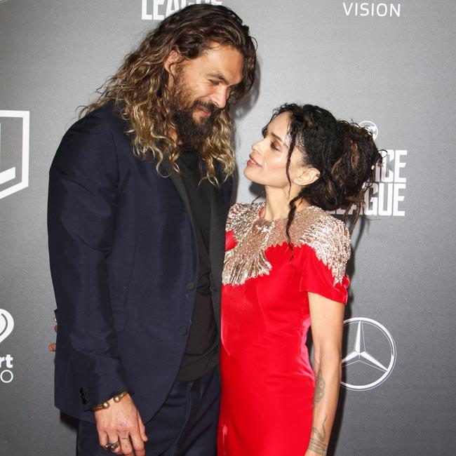 Jason Momoa and Lisa Bonet all loved up