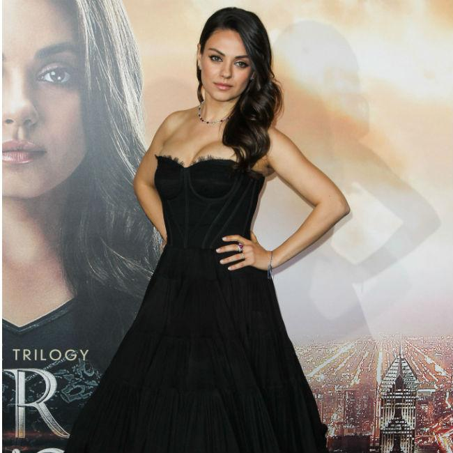 Mila Kunis once greeted UPS driver topless