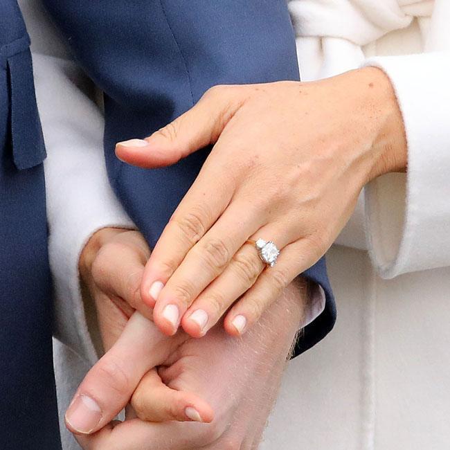Prince Harry designed Meghan Markles engagement ring
