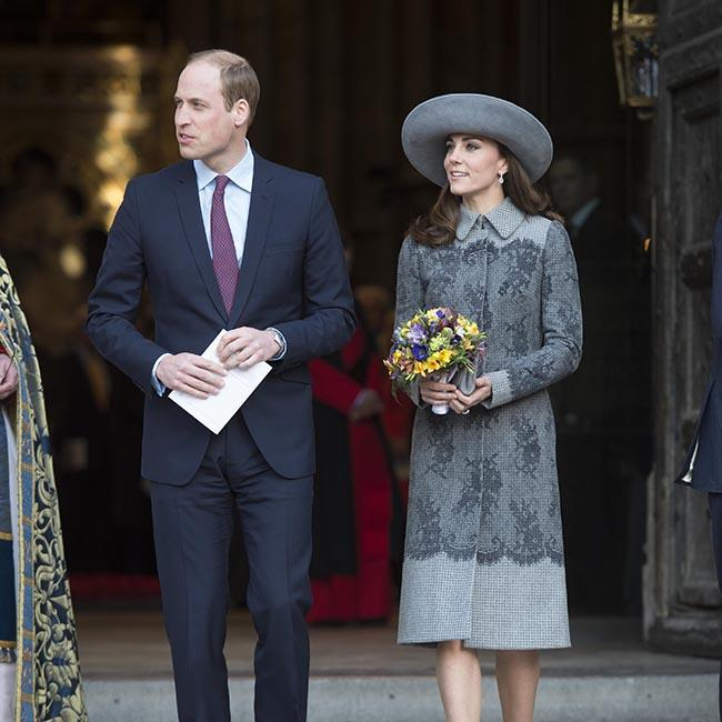 Prince William and Duchess Catherine attend Christmas party