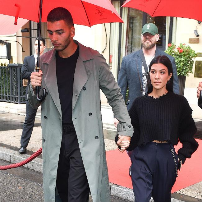 Kourtney Kardashian 'happy' with Younes Bendjima