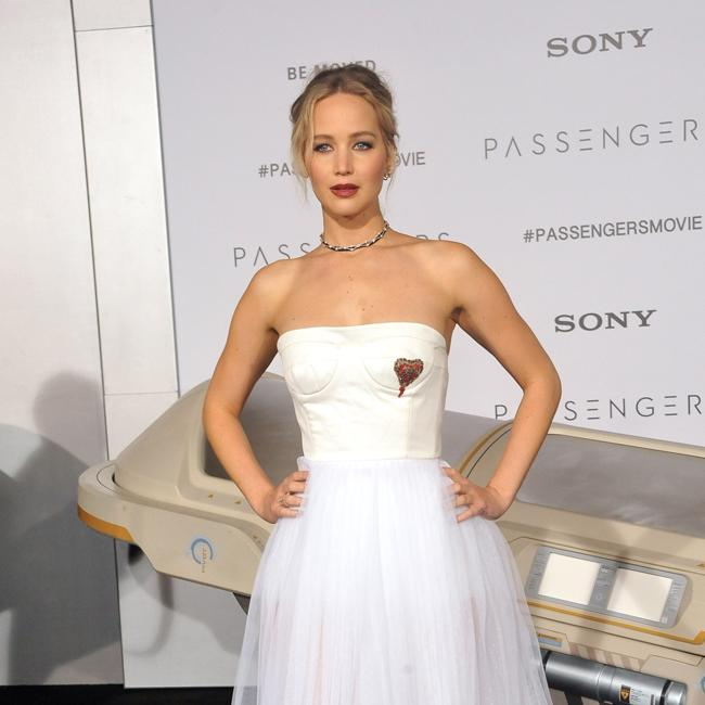 Jennifer Lawrence uses platform for good