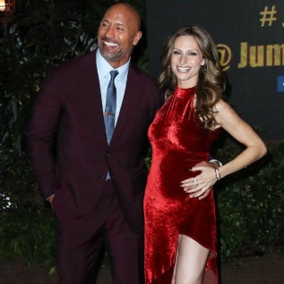 Dwayne Johnson set to be father for third time