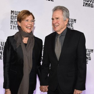 Annette Bening was all smiles at the honorary event