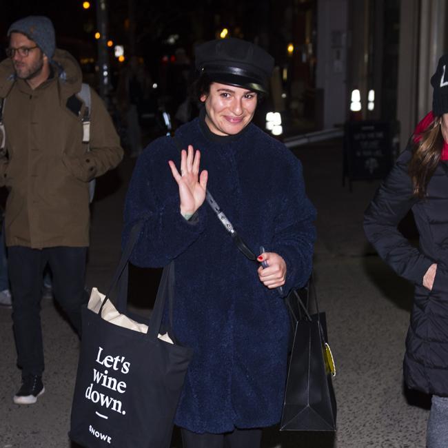 Lea Michele dating just nu
