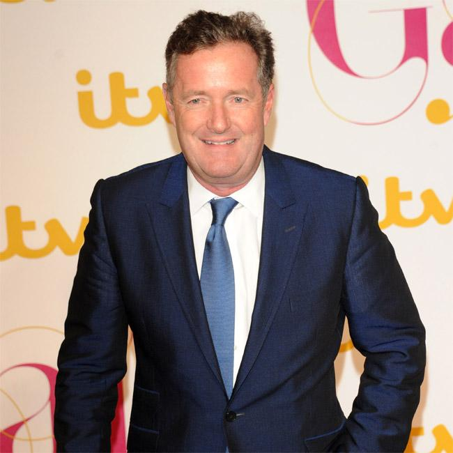 Piers Morgan and Susanna Reid from late-night xmas party