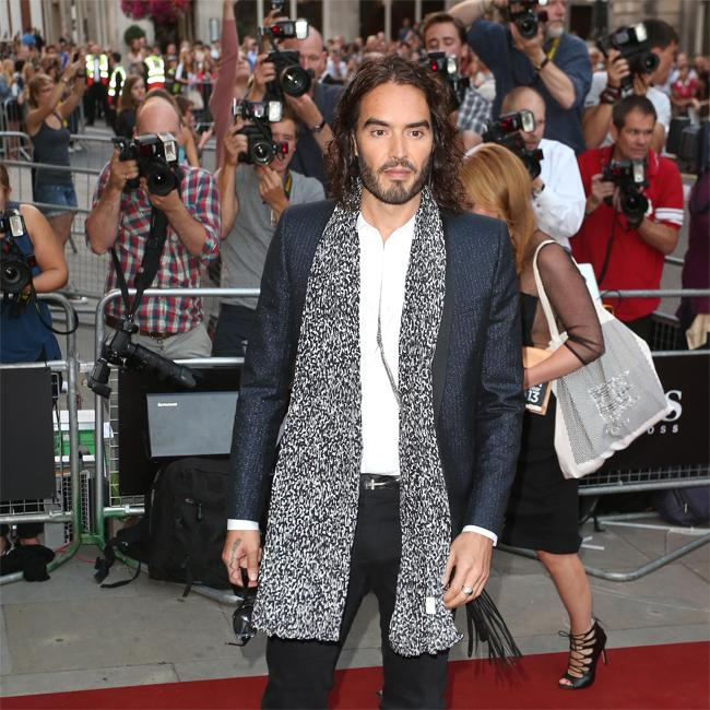 Russell Brand banned from making pregnancy gags