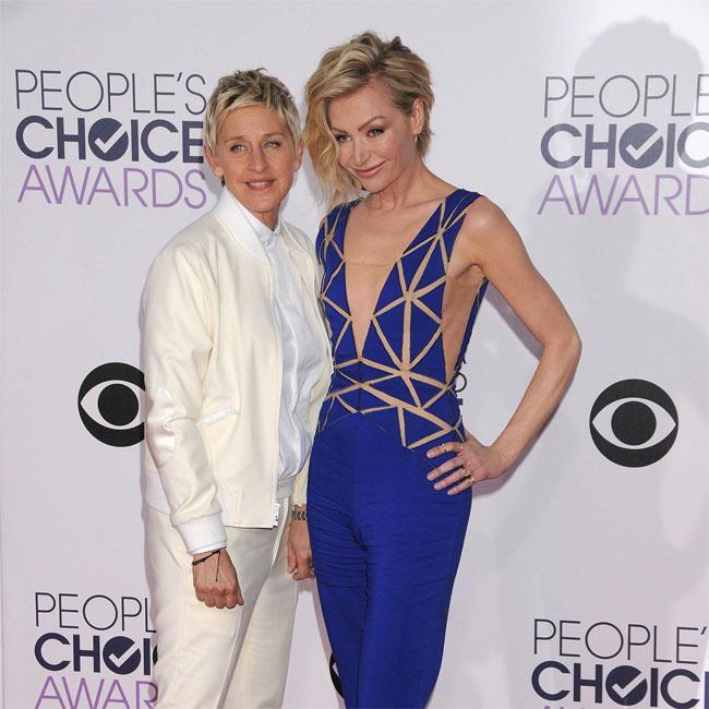 Ellen DeGeneres will count her blessings