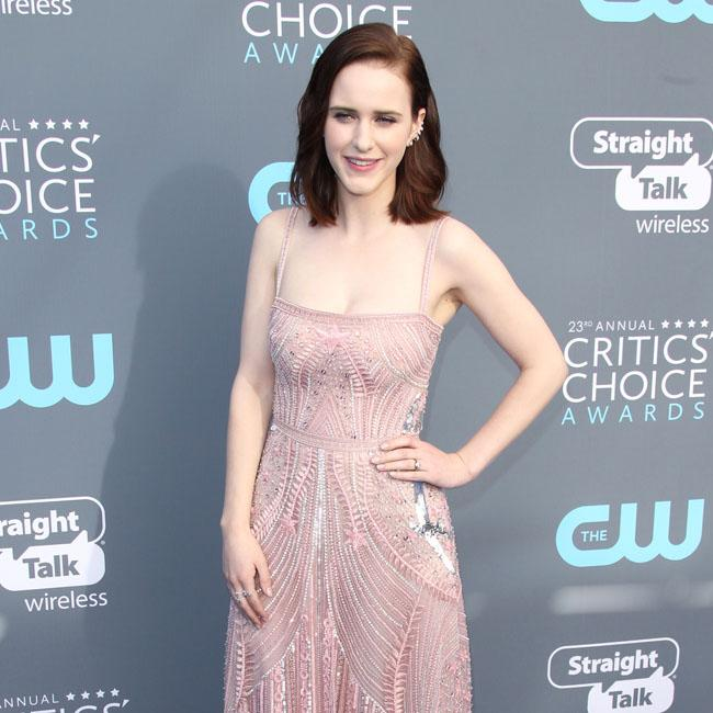 Rachel Brosnahan promotes Time's Up
