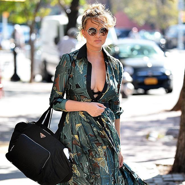Chrissy Teigen gushes over pal Kim Kardashian West's new tot