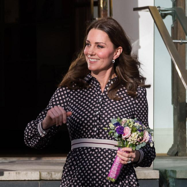 Duchess Catherine shows 'caring' side helping poorly pupil