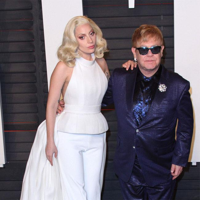 Elton John's star-studded 70th birthday