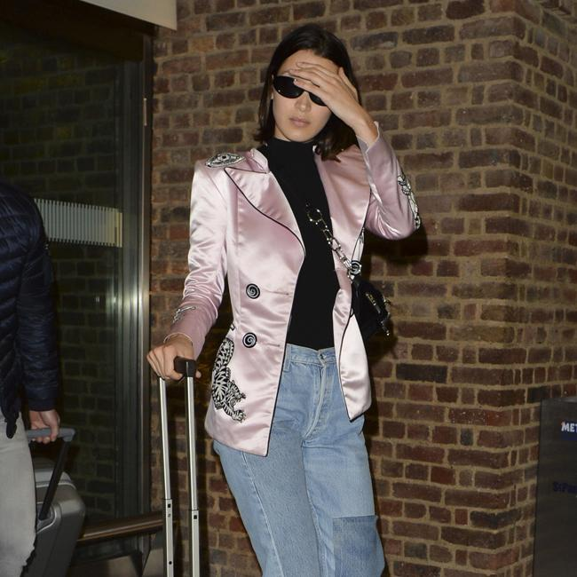 Bella Hadid reveals red carpet nerves