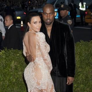 Kim Kardashian West and Kanye West name daughter