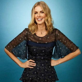 Donna Air doing Dancing on Ice for daughter