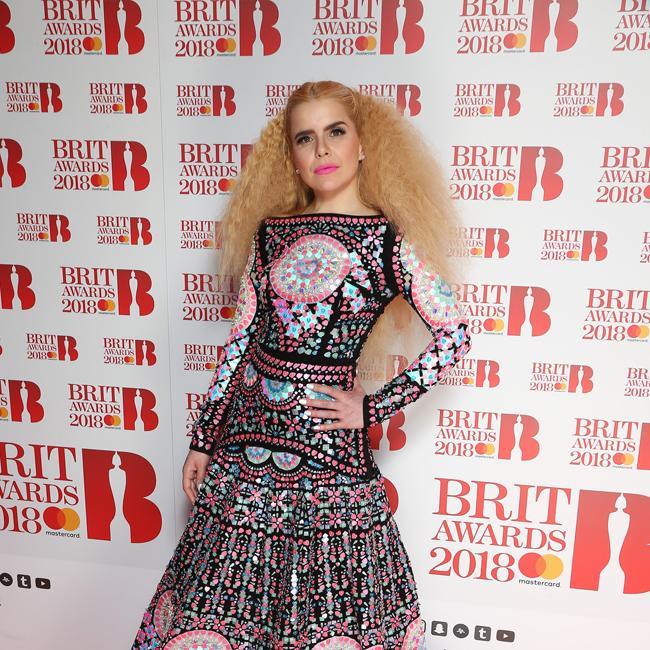 Paloma Faith bemoans lack of female performers at BRITs