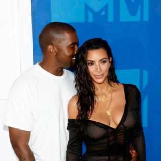 Kim Kardashian and Kanye West's date night