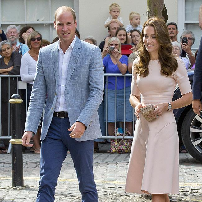 Prince William and Duchess Catherine to Meet Alicia Vikander in Sweden