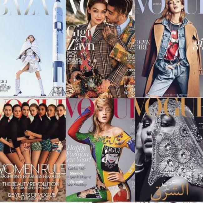 Gigi Hadid reflects on a successful year