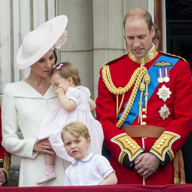 Prince Charlotte likes to show Prince George she is boss