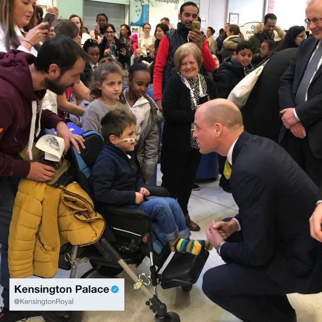 Prince William praises Step Into Health