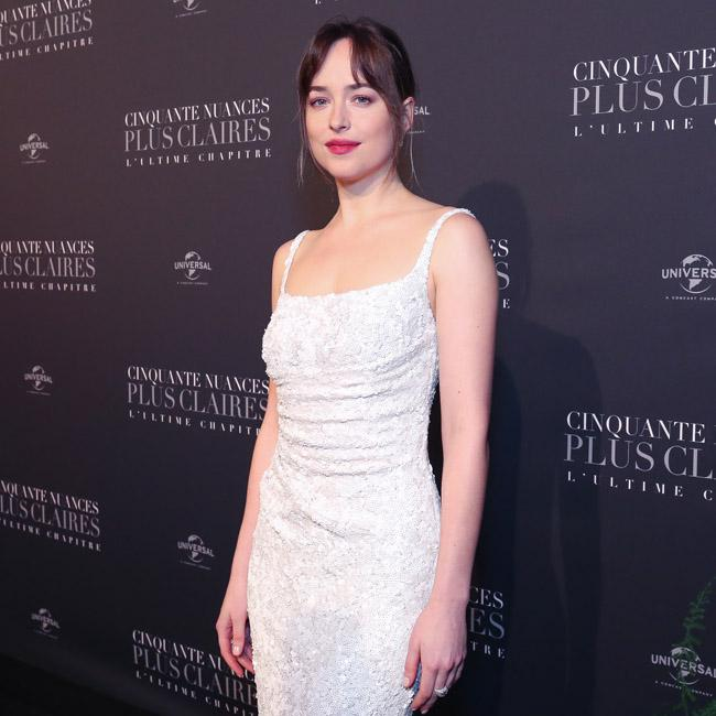 Dakota Johnson had strapless thongs glued to her body in Fifty Shades movies