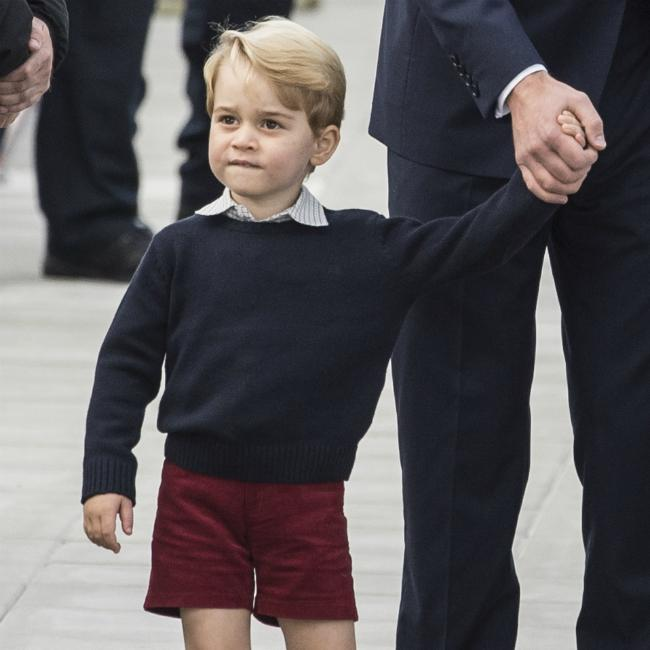 Prince George bonds with father Prince William over films