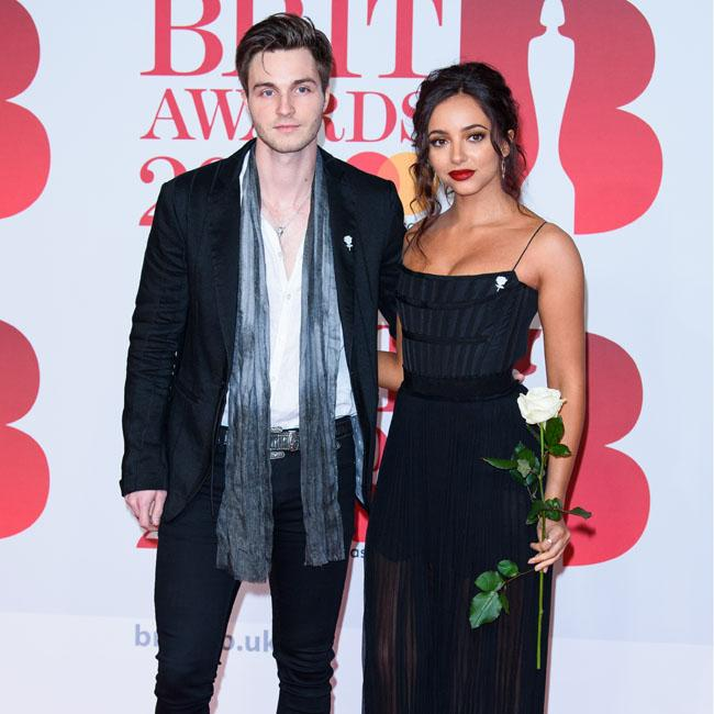 Jed Elliott and Jade Thirlwall look stylish at the BRITs