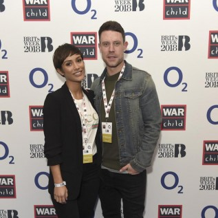 Franke and Wayne Bridge take night off from parenting to attend Ed Sheeran gig