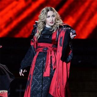 Madonna's BRITs slip