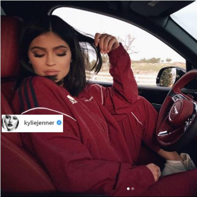 Kylie Jenner shares first selfie after Stormi's birth